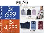 Ofertas de Men's Fashion, Promociones