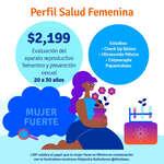 Ofertas de Laboratorio Médico Polanco, Perfil salud femenina