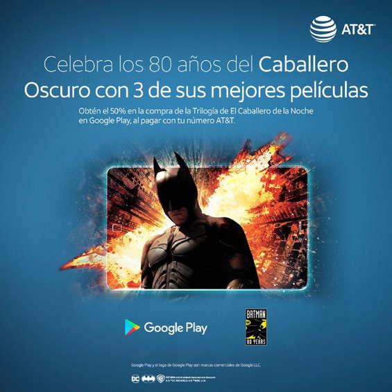 Ofertas de AT&T, Descuento en la trilogía Batman