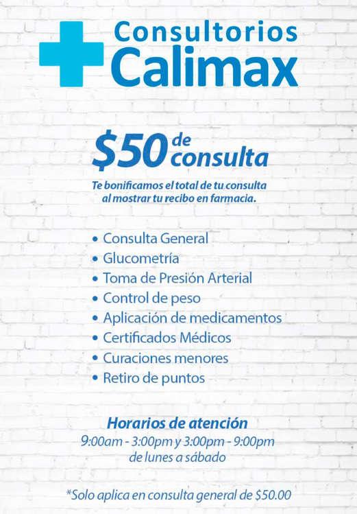 Ofertas de Calimax, Consultorios calimax