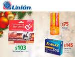 Ofertas de Farmacias Unión, Promociones Navidad