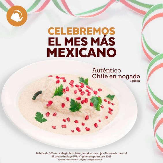 Ofertas de La Parroquia de Veracruz, Celebremos el mes más mexicano