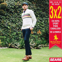 3x2 En ropa sport para caballero