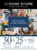Ofertas de The Home Store, Renuévate y organízate