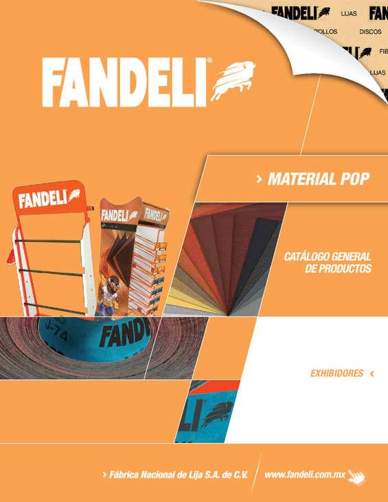 Ofertas de Fandeli, Material pop