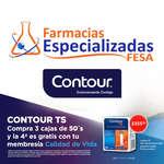Ofertas de Farmacias Especializadas, Contour: tiras reactivas