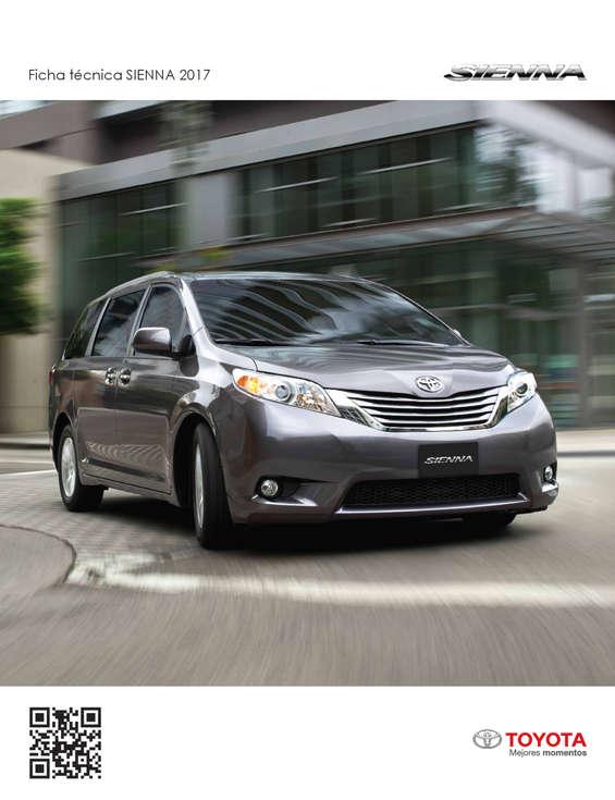 Ofertas de Toyota, SIENNA 2017