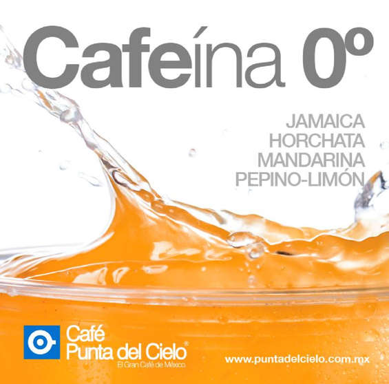 Ofertas de Café Punta del Cielo, Cafeína