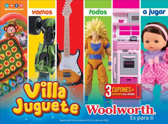 Ofertas de Woolworth, Villa Juguete - CDMX