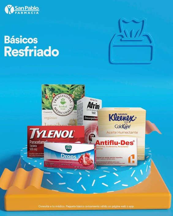 Ofertas de San Pablo Farmacia, Los básicos del resfriado