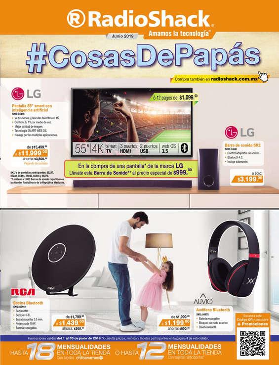 Ofertas de RadioShack, #CosasDePapás