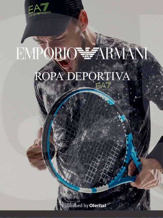 Ofertas de Emporio Armani, Ropa deportiva | Hombre