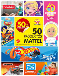 Mattel: 50% de descuento | NL