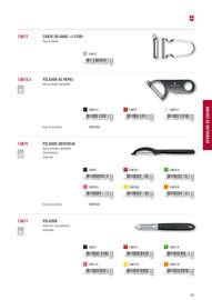 Cuchillos domésticos y profesionales 2017