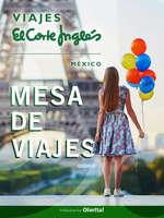 Ofertas de Viajes El Corte Inglés, Mesa de Viajes El Corte Inglés