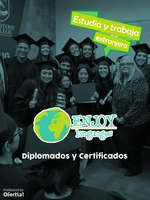 Ofertas de Enjoy Languages, Diplomas y Certificados