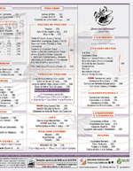 Ofertas de Fisher's, Menú Querétaro