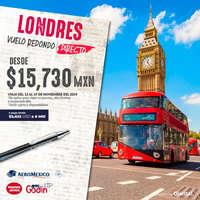 Londres desde $15,730
