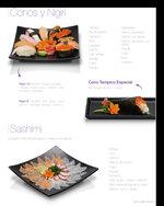 Ofertas de Mr. Sushi, Menú