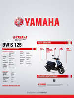 Ofertas de Yamaha, BW's 125