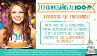 Tu cumpleaños al 100