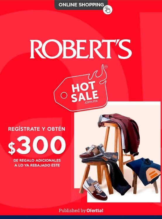 Ofertas de Robert's Identidad, HotSale