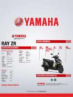 Ofertas de Yamaha, RAY ZR