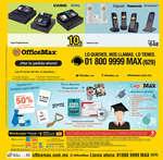 Ofertas de Office Max, Con todo para el éxito