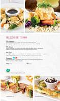 Ofertas de 100% Natural, Menú comidas