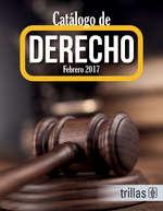 Ofertas de Editorial Trillas, CATáLOGO DE DERECHO