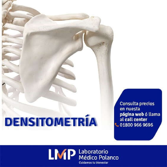 Ofertas de Laboratorio Médico Polanco, Densitometría mp