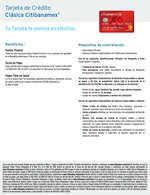 Ofertas de Citibanamex, Tarjeta de crédito clásica