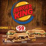 Ofertas de Burger King, Combo del Rey