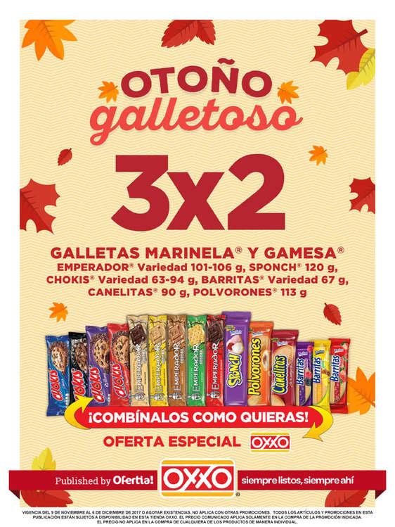 Ofertas de OXXO, Otoño Galletoso - CDMX