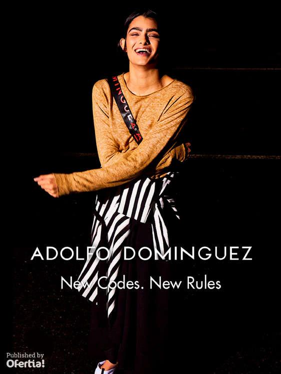 Ofertas de Adolfo Dominguez, New Codes. New Rules