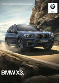 BMW X3 sDrive20iA Executive 2018