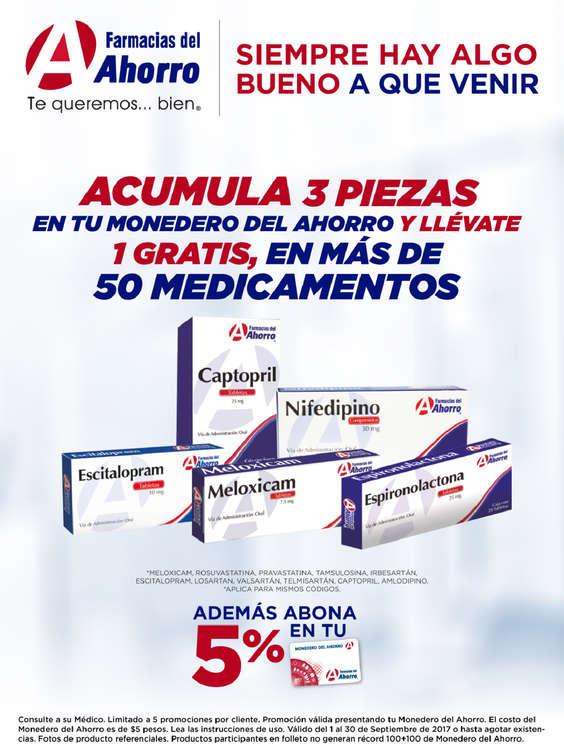 Ofertas de Farmacias del Ahorro, Siempre hay algo bueno a que venir