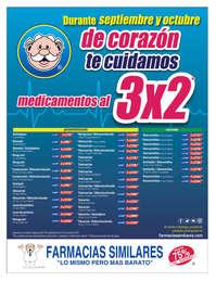 Medicamentos al 3x2