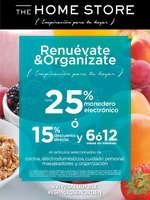 Ofertas de The Home Store, Renuévate y organiza