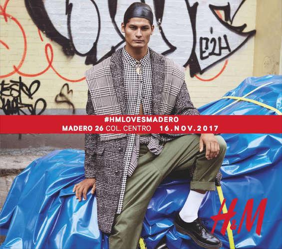 Ofertas de H&M, HM LOVES MADERO