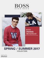 Ofertas de Hugo Boss, Boss Orange Menswear Spring Summer 2017