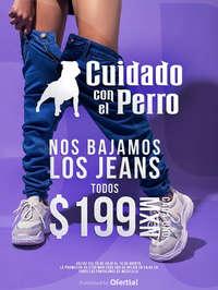 Jeans a 199 MXN