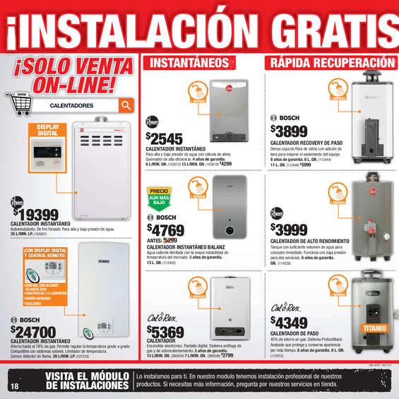 Calentador de gas natural en guadalupe cat logos - Natura home catalogo ...