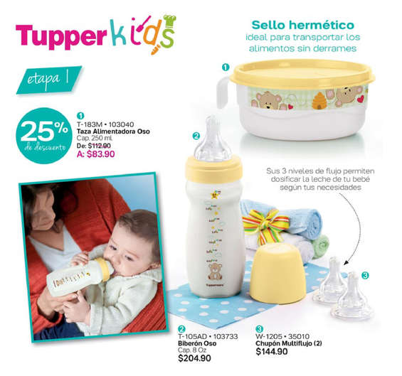 Ofertas de Tupperware, Conserva lo natural