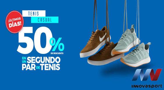 Ofertas de Innovasport, 50% de descuento en un segundo par de tenis