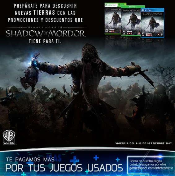 Ofertas de Game Planet, Shadow of mordor