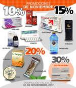 Ofertas de Farmacias Médicor, Promociones de Noviembre