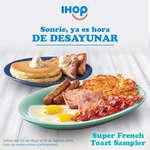 Ofertas de Ihop, Súper French Toast Sampler
