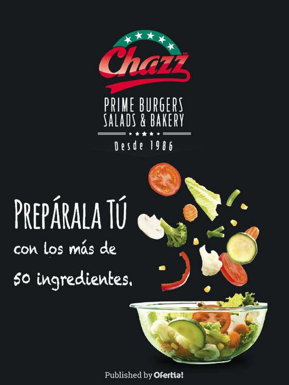 Ofertas de Chazz, Prepara tu propia ensalada