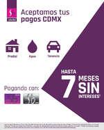 Ofertas de Suburbia, Pagos CDMX